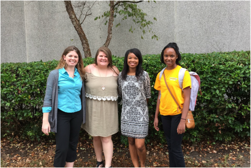 Fall 2015 members of Dr. Nora Charles' Youth Substance Use and Risky Behavior Lab
